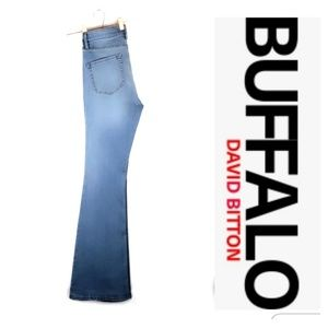 Buffalo David Bitton Flare High Rise Inka Size 28